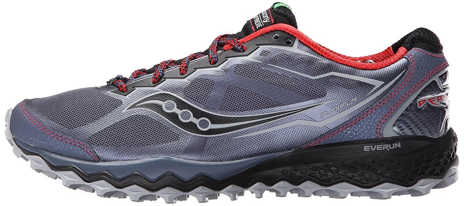 the Saucony Peregrine 6 is a stylish, sleek trail shoe that can tackle a number of trails and terrains