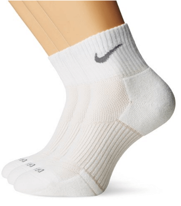 8. Nike Dri-Fit Half Cushion Quarter Sock
