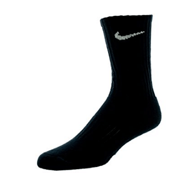 5. Nike Kids Performance Cotton Cushioned Crew Sock