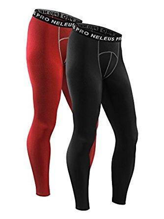Neleus  2 Pack Athletic Compression Sport