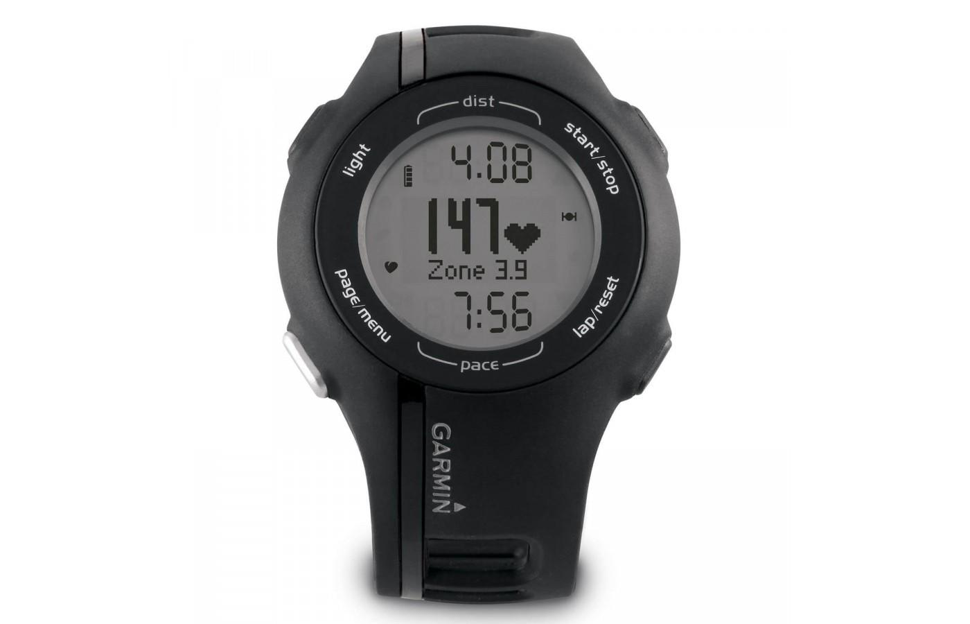 The Garmin Forerunner 210 can be found at a discounted price since it is an older model