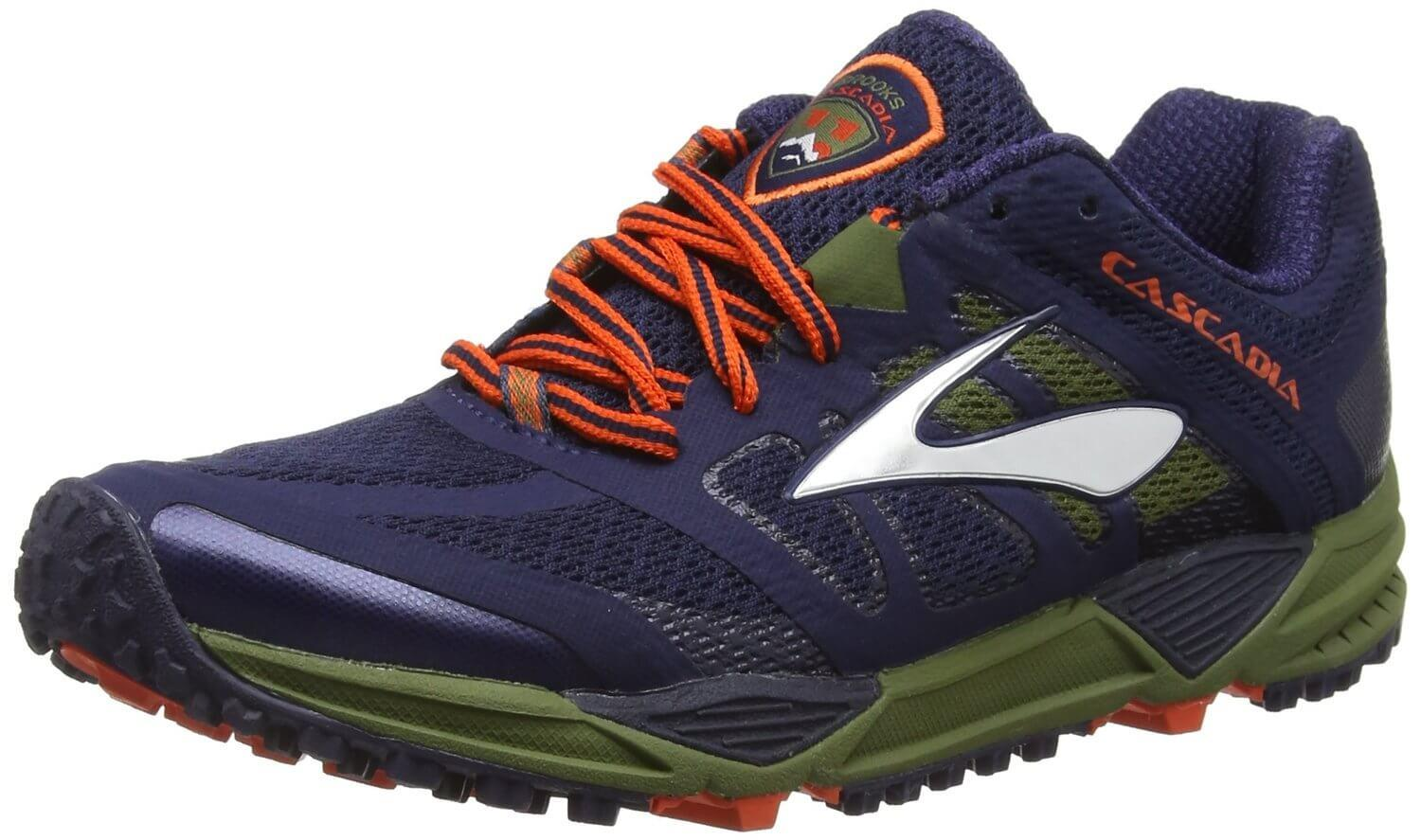 the Brooks Cascadia 11 provides balance and protection during a run