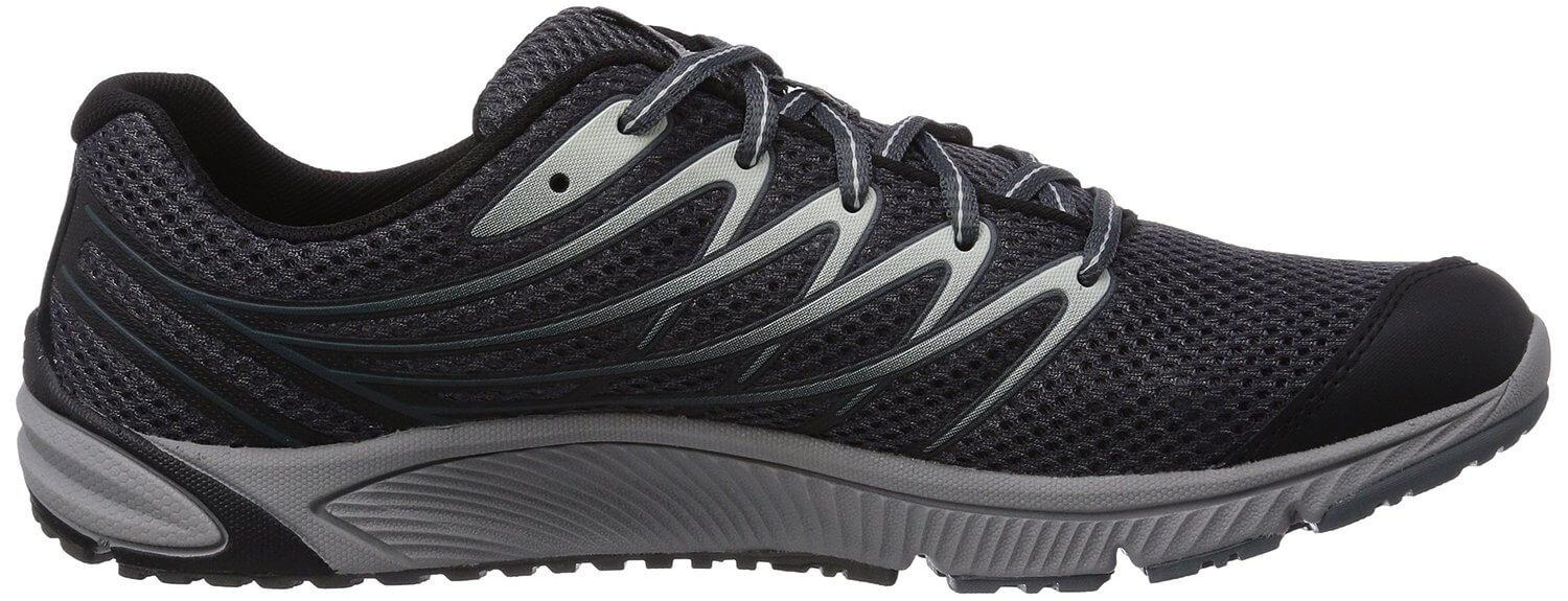 the Merrell Bare Access 4 is constructed to respond to the natural movement of a foot