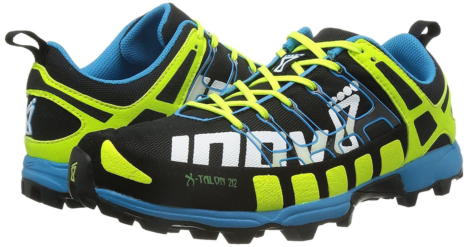 the Inov-8 X-Talon 212 is lightweight but offers solid protection against hazardous conditions