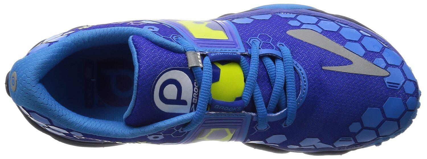 The Brooks PureGrit 4 has an upper the provides support to the scaphoid bones.
