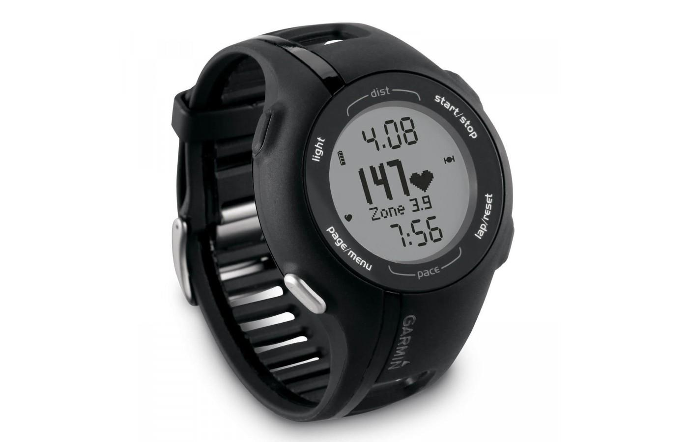 Forerunner 210 is water and shock resistant