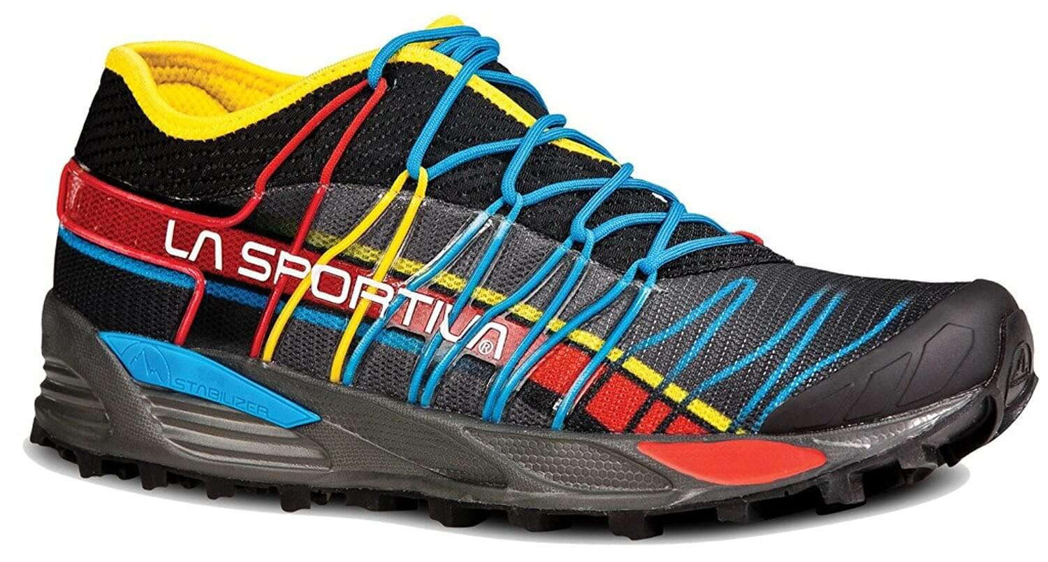 the La Sportiva Mutant is an eye-catching and high-performance trail running shoe