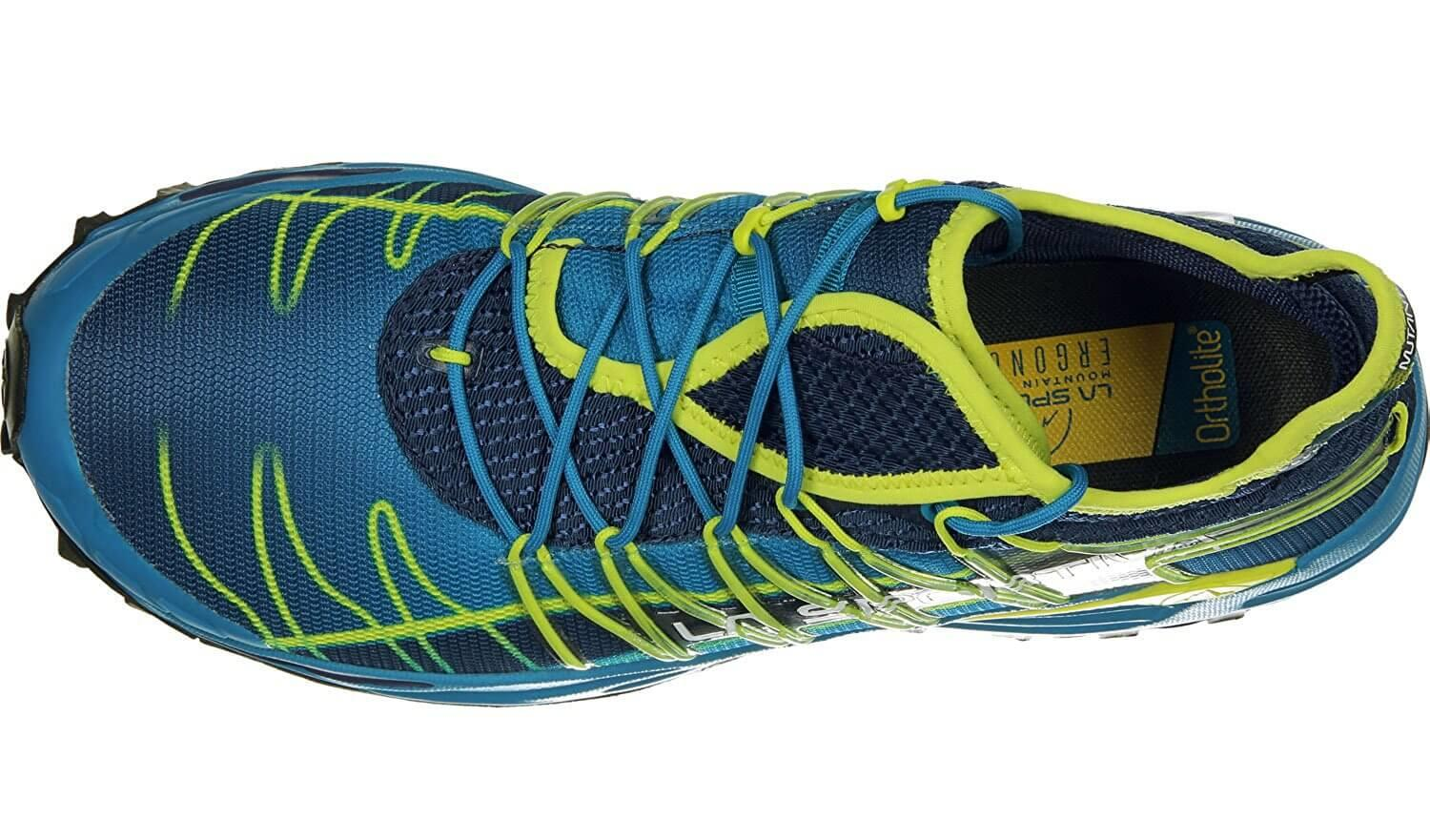the outsole of the La Sportiva Mutant is breathable and features a snug, comfortable fit
