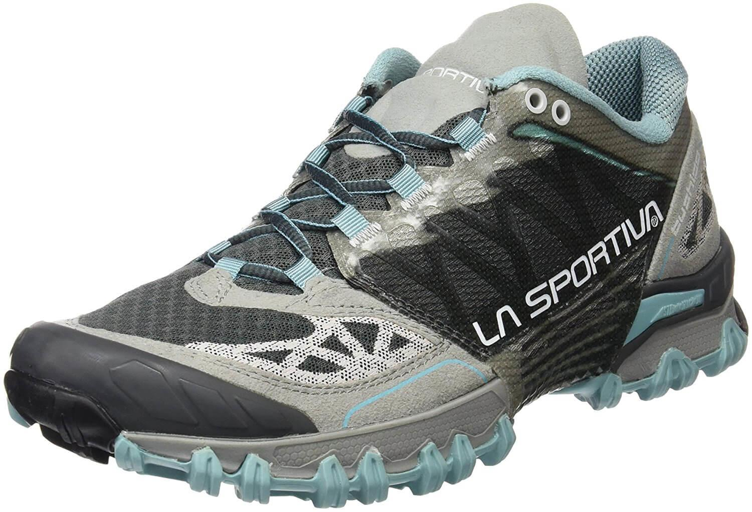 the La Sportiva Bushido is a dynamic stability trail shoe