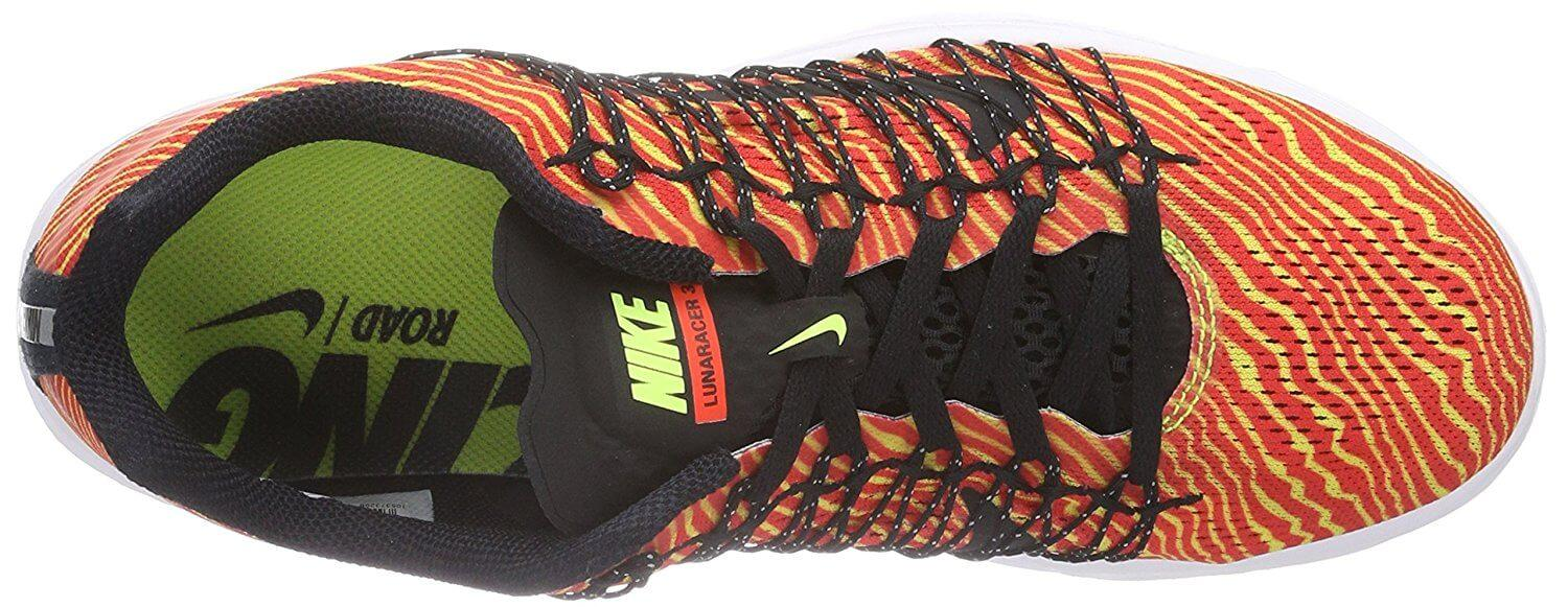 the Nike LunaRacer 3 has an improved upper mesh that provides greater ventilation over previous editions