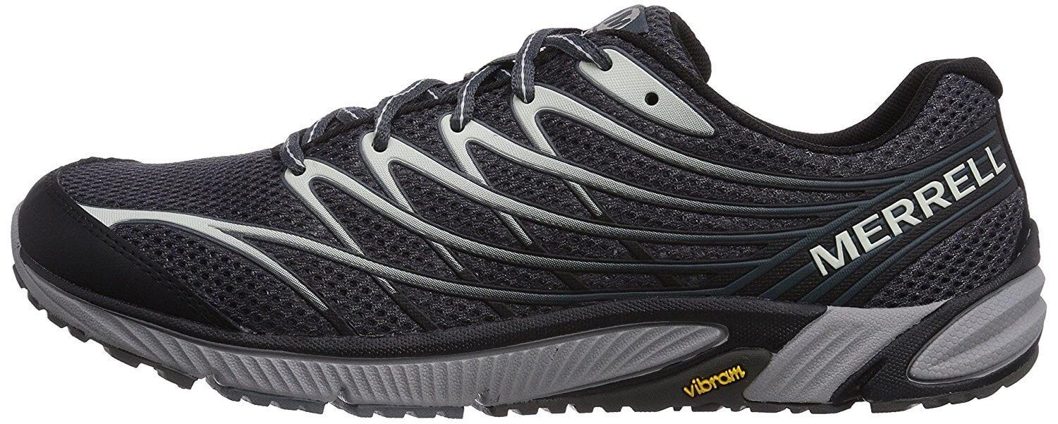 the Merrell Bare Access 4 is a zero drop running shoe that has a great amount of stability