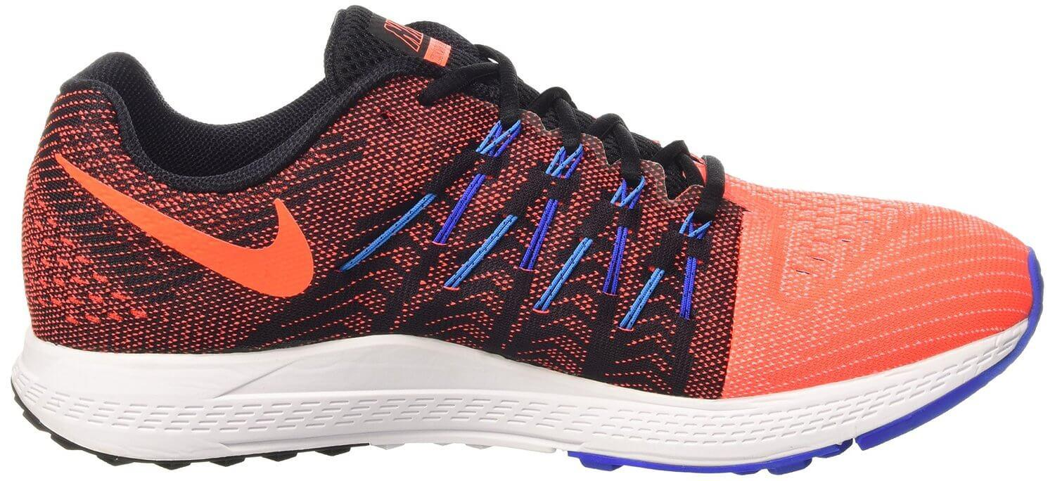 The Phylon material used for the Nike Air Zoom Elite 8's midsole is lightweight yet surprisingly durable.