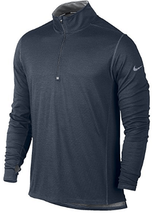 8. Nike Dri-Fit Wool Half-Zip Long Sleeve