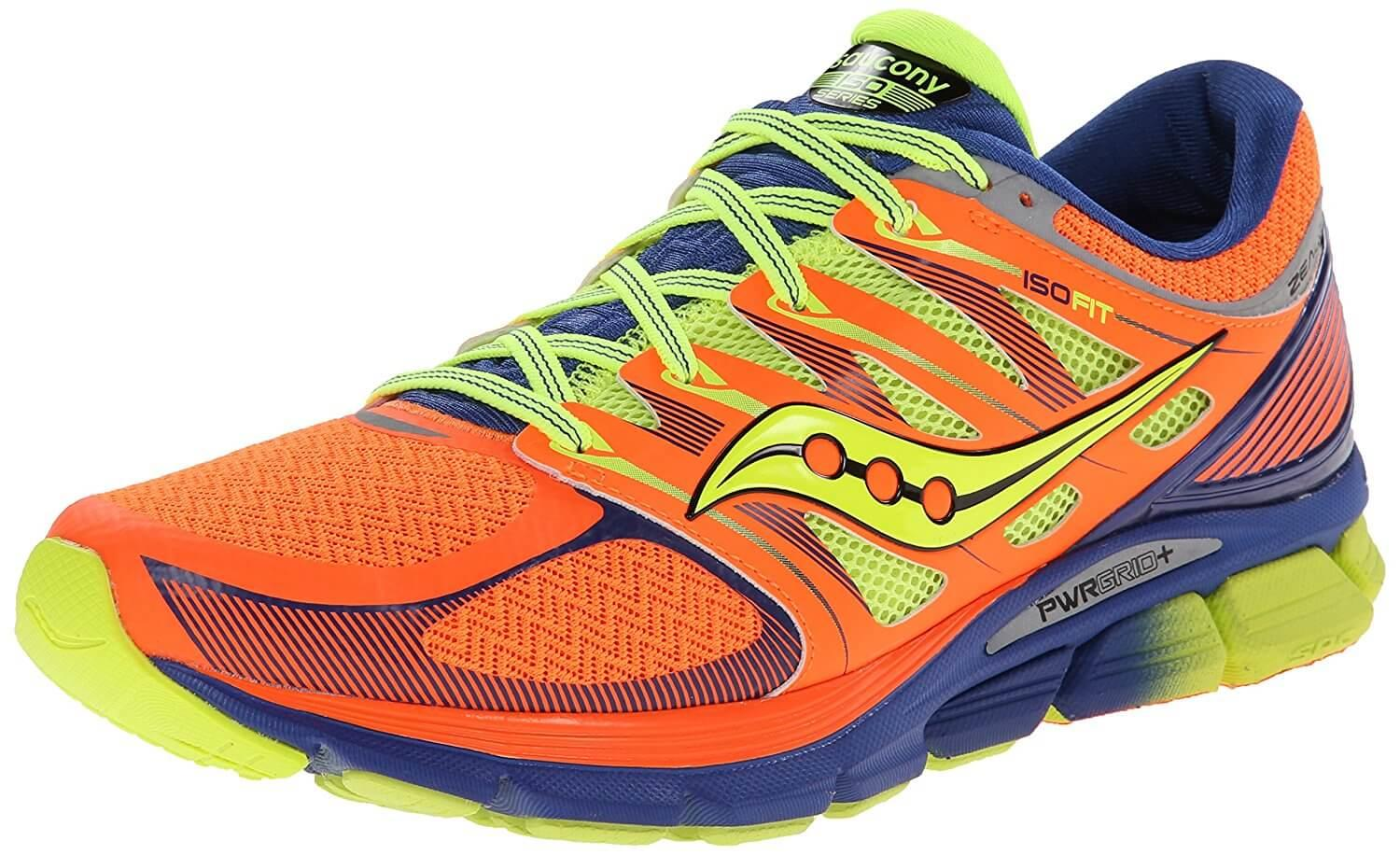 The Saucony Zealot ISO adapts to your movements with ISOFIT technology.