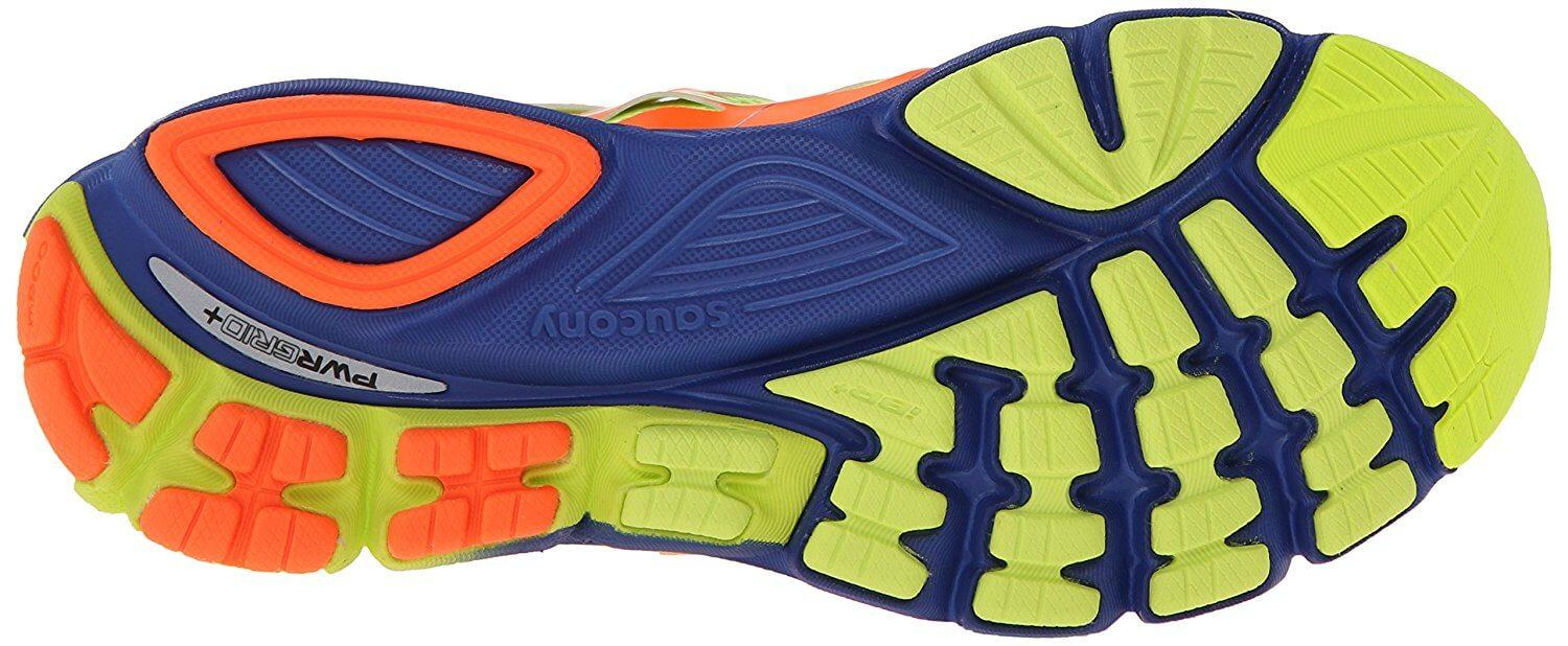 Saucony Zealot ISO's outsoles feature XT-900 technology, making them highly durable.