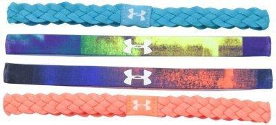 4.Under Armor Braided Mini Headbands