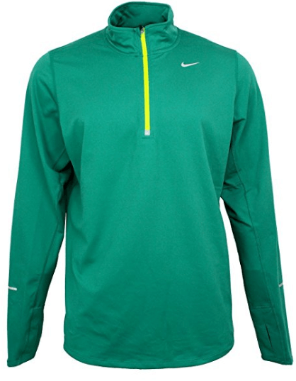 1. Nike Dri-Fit Element 1/2 Zip