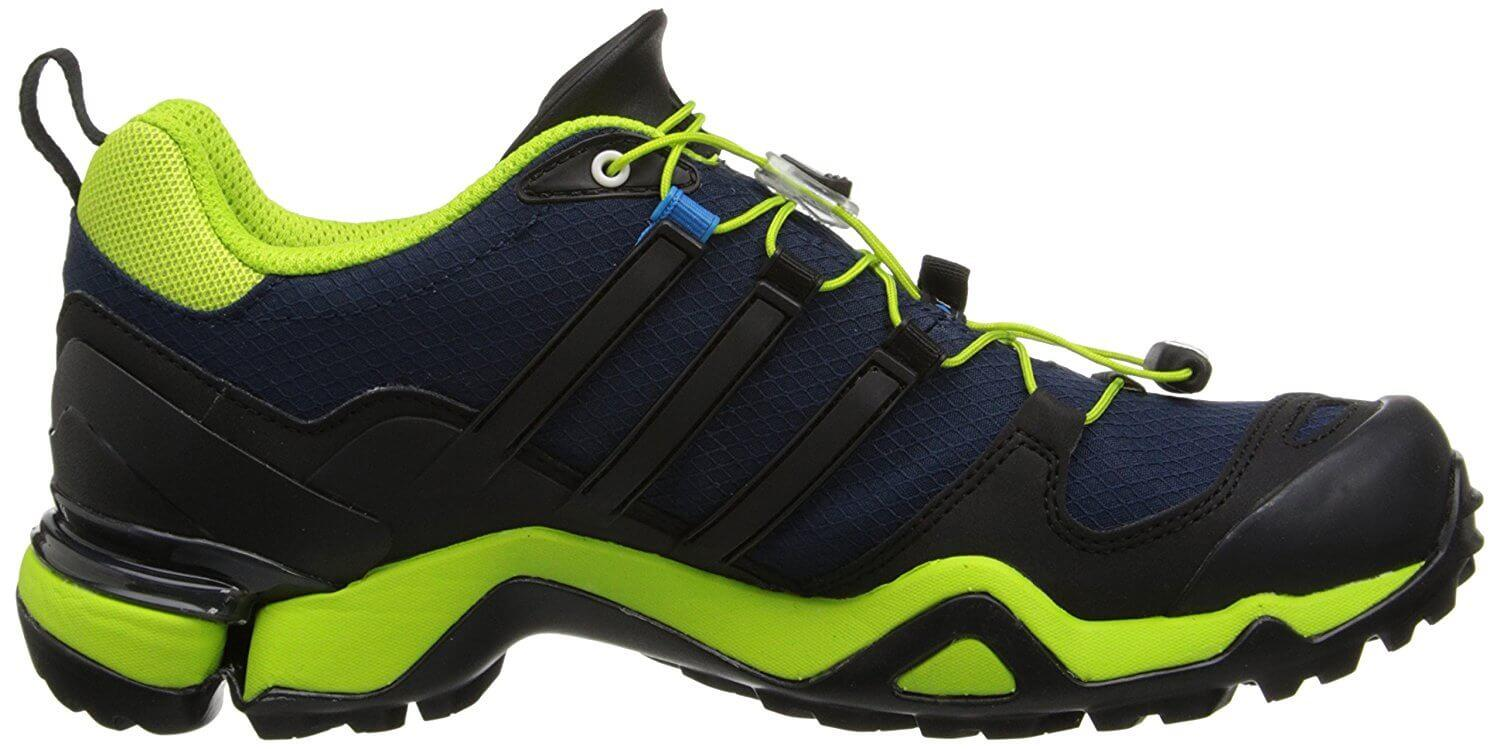 adiPRENE+ midsole material provides excellent shock absorption on the Adidas Terrex Fast R GTX.