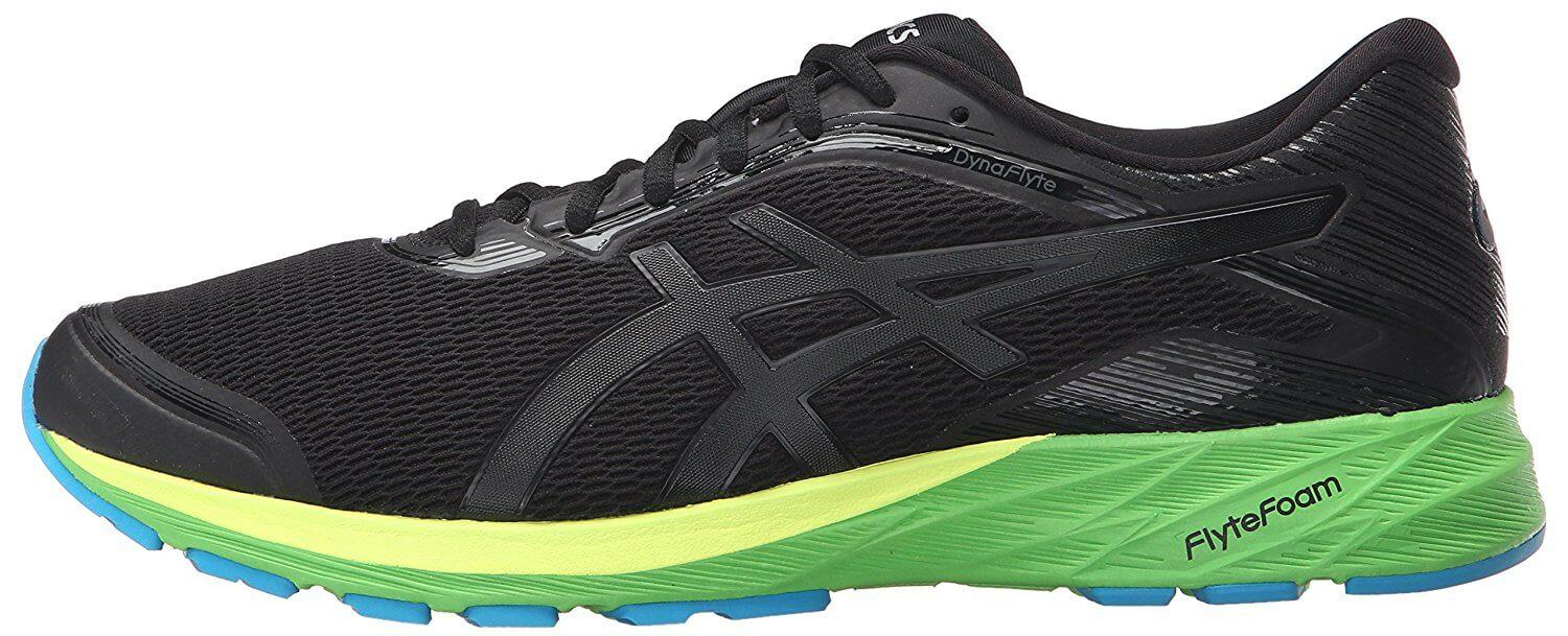 the Asics Dynaflyte is a comfortable and stylish running shoe for those with neutral pronation