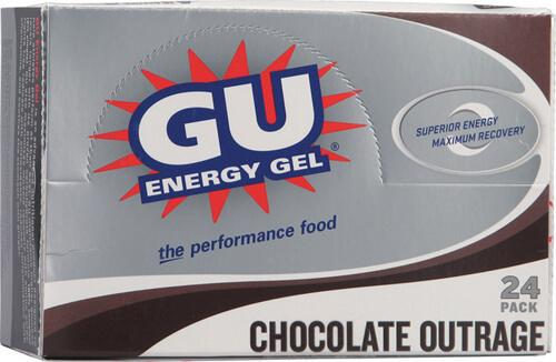 5. GU Energy Gel Chocolate Outrage
