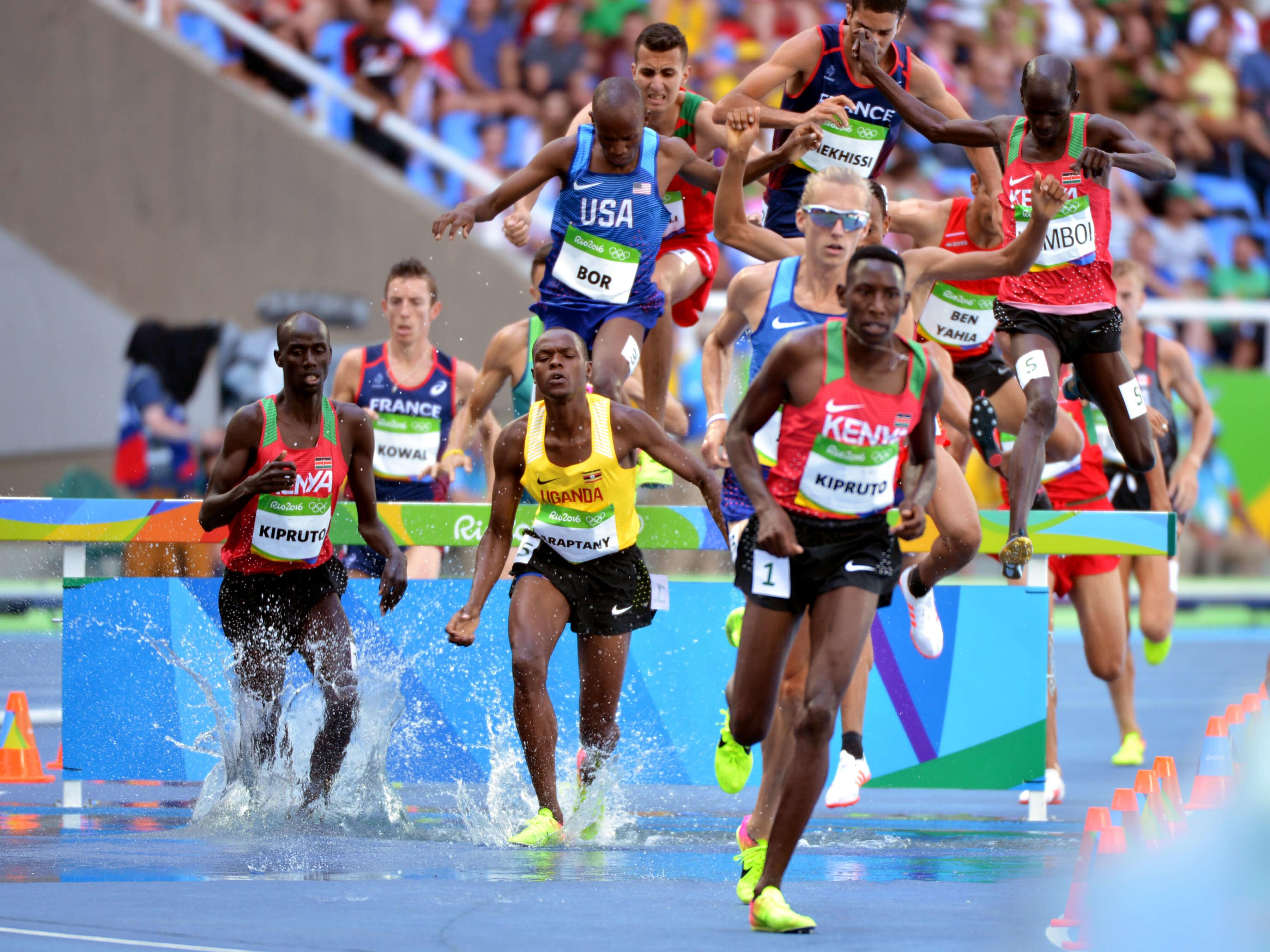 SGT Hillary Bor 3K steeplechase at Rio Olympic Games