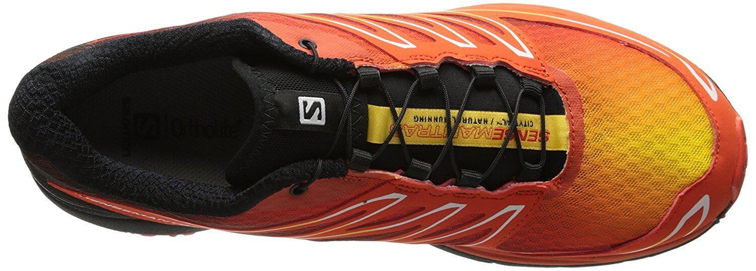 the Salomon Sense Mantra 3 is a stylish hybrid shoe that comes in a number of attractive color combinations