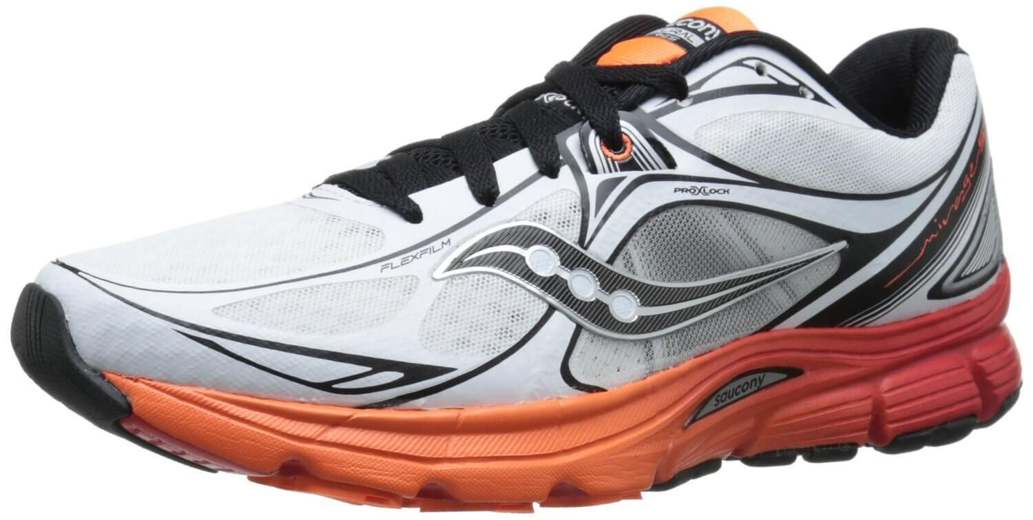 As a guidance shoe, the Saucony Mirage 5 is best suited to overpronators.