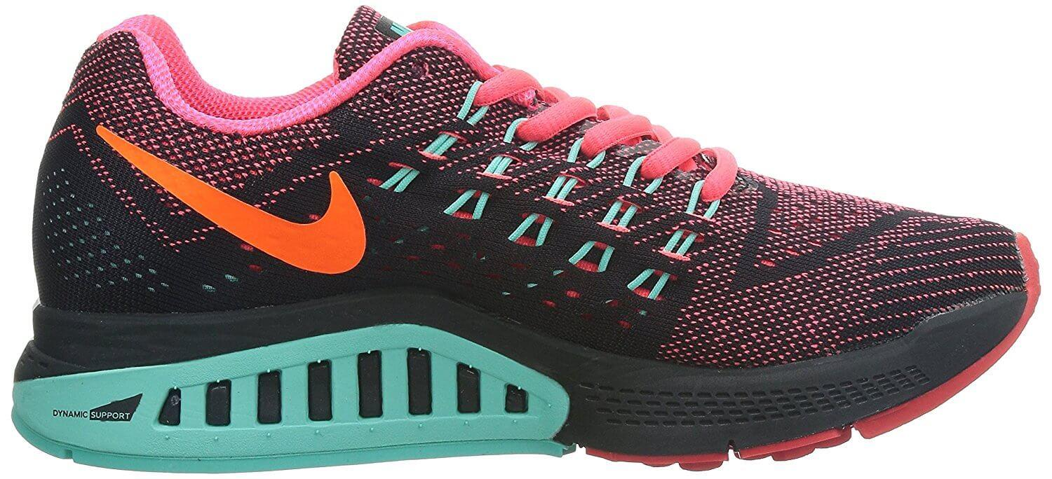 Numerous excellent color schemes are available with the Nike Air Zoom Structure 18.