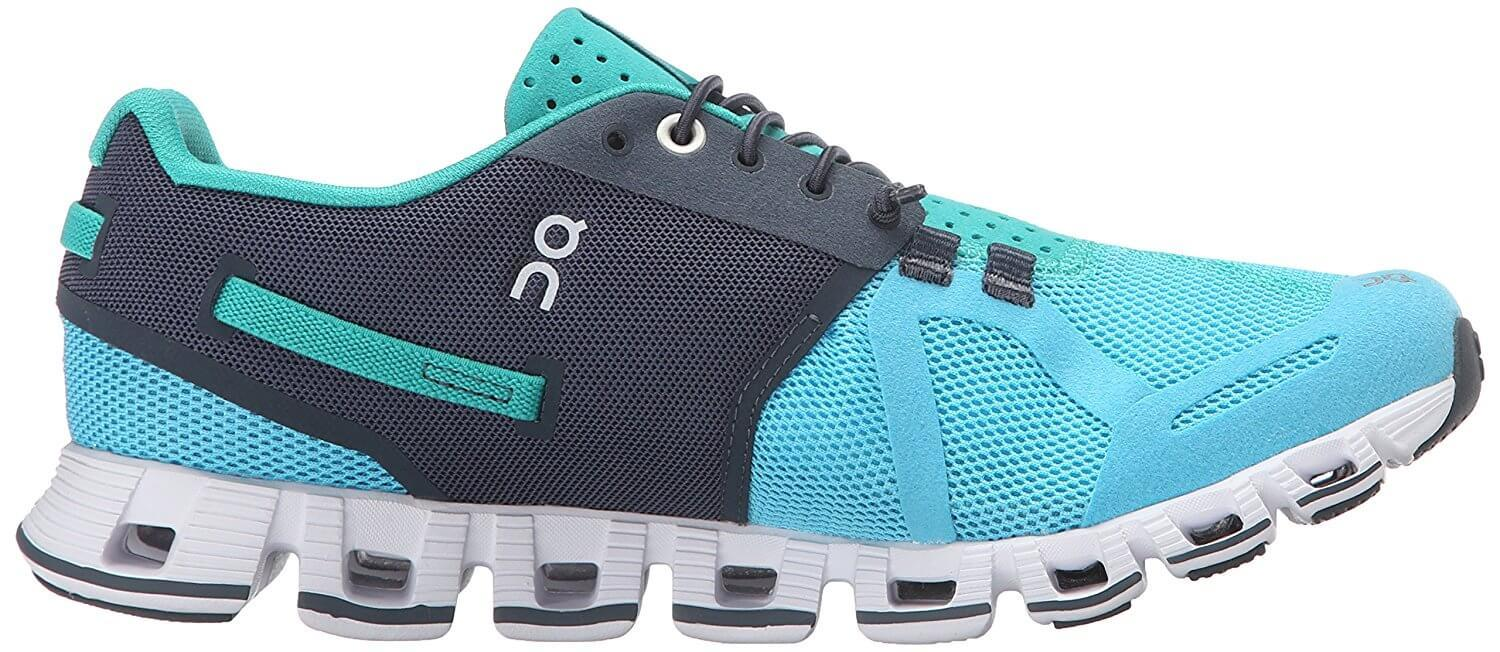 The midsole of the On Cloud is thicker and denser to compensate for any shortcomings present in the outsole.