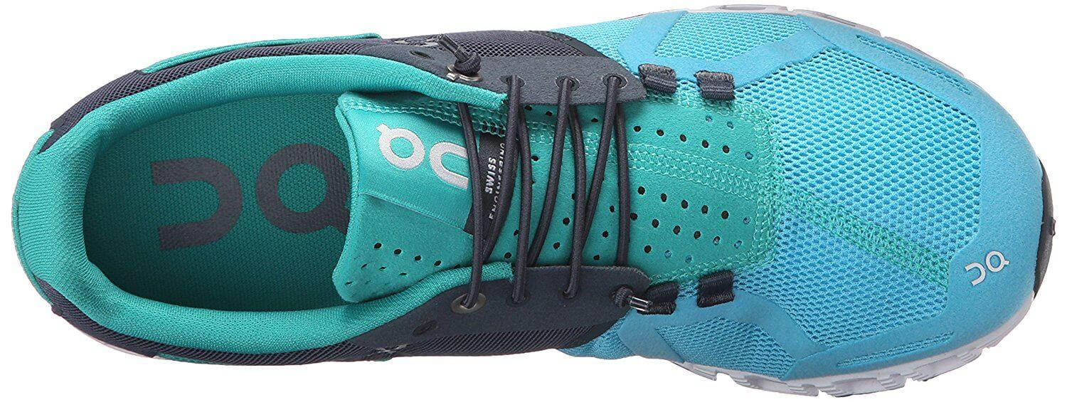 Some customers may dislike the elastic laces on the On Cloud's upper.