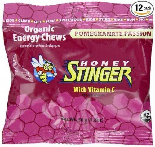 1. Pomegranate Passion Organic Energy Chew
