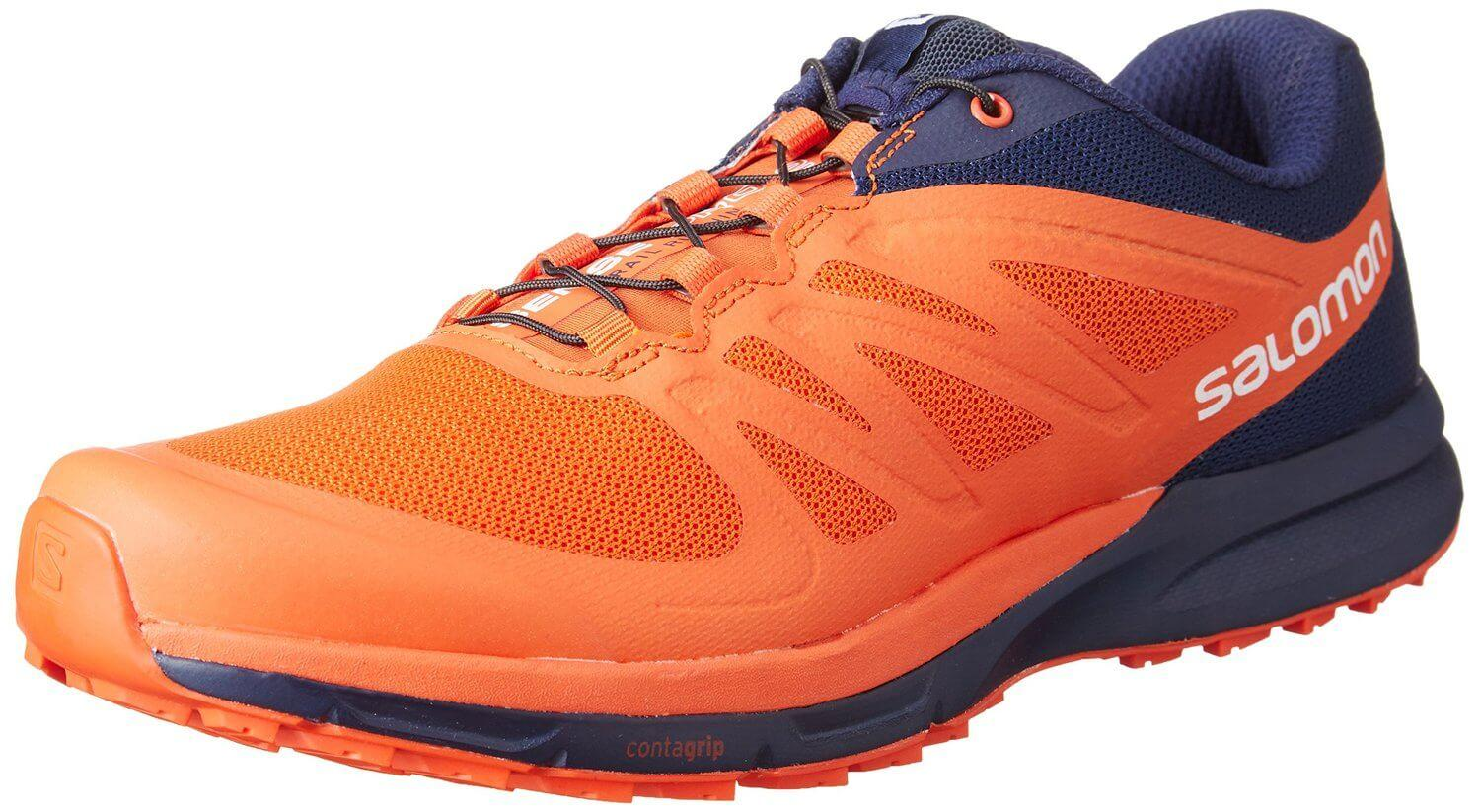 Despite having a minimalist design, the Salomon Sense Pro 2 is meant for trail running.