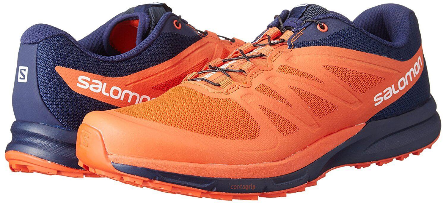 With a limited amount of color options, the Salomon Sense Pro 2 isn't the most stylish pair of trail shoes.