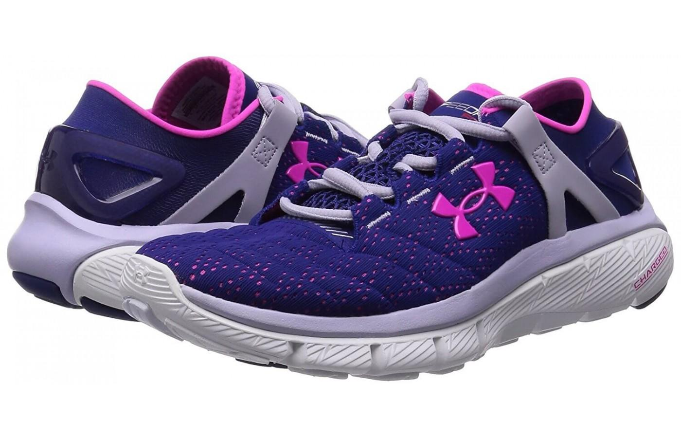 a pair of Under Armour SpeedForm Fortis reviewed