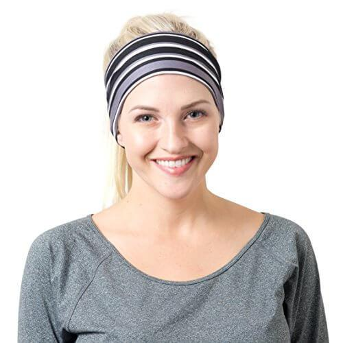 5. Best headband. Yoga Headbands for Women - Wide Non Slip Design for Running Workout and Fitness