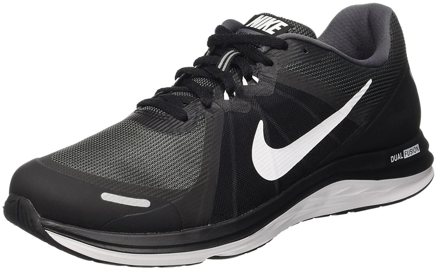 Mens Athletic Shoes Get New 4672996 Nike Dual Fusion X Black White 7 0 D