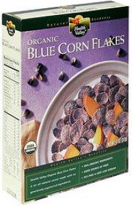 10. Organic Blue Corn Flakes (Health Valley)