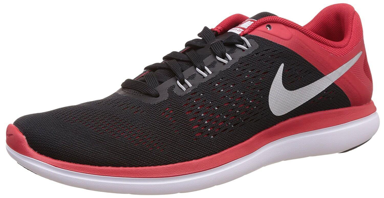 Low Priced Men Nike Flex Experience Run 3 Lightweight Running Shoe Black/White - F2H4009623