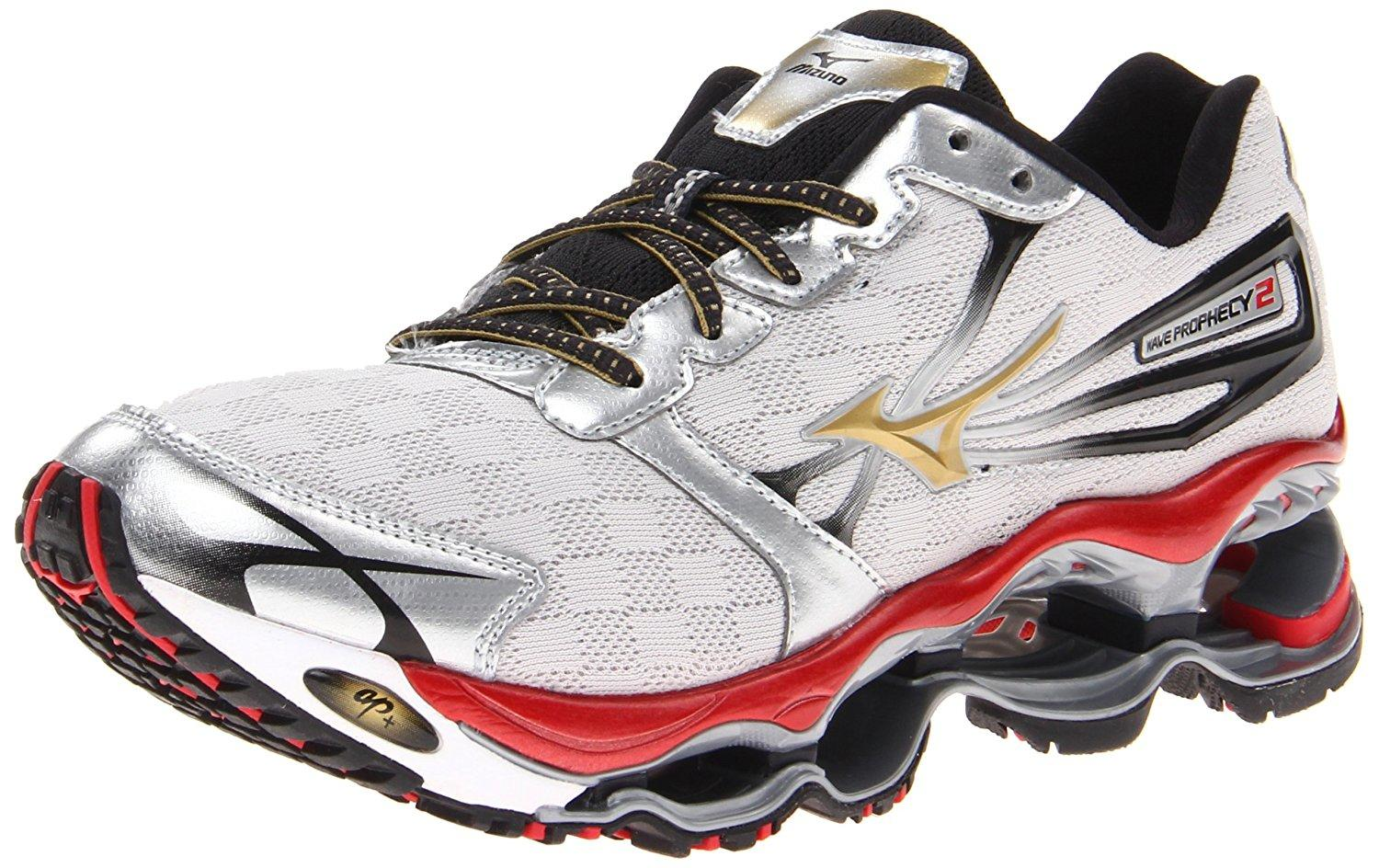 size 40 5d1eb a08c9 mizuno wave prophecy white blue