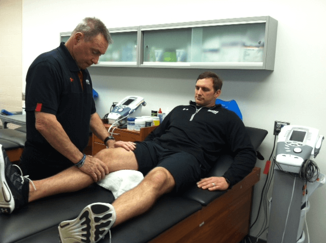 Patellar tendinitis check up physical therapy