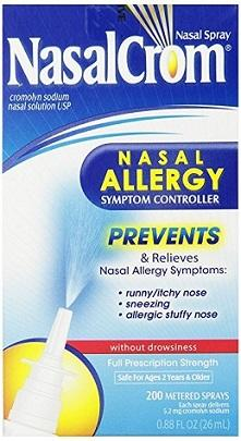 Nasal Crom Nasal Spray
