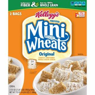 9. Mini Wheats (Kellog's)