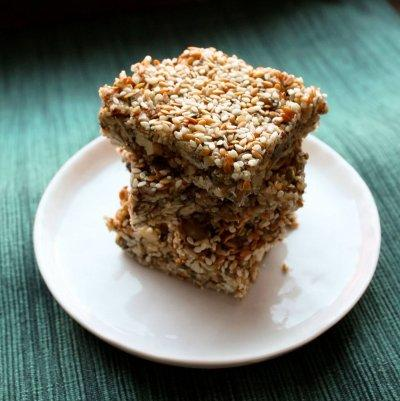 6. Vegan Raw Crunch Bars