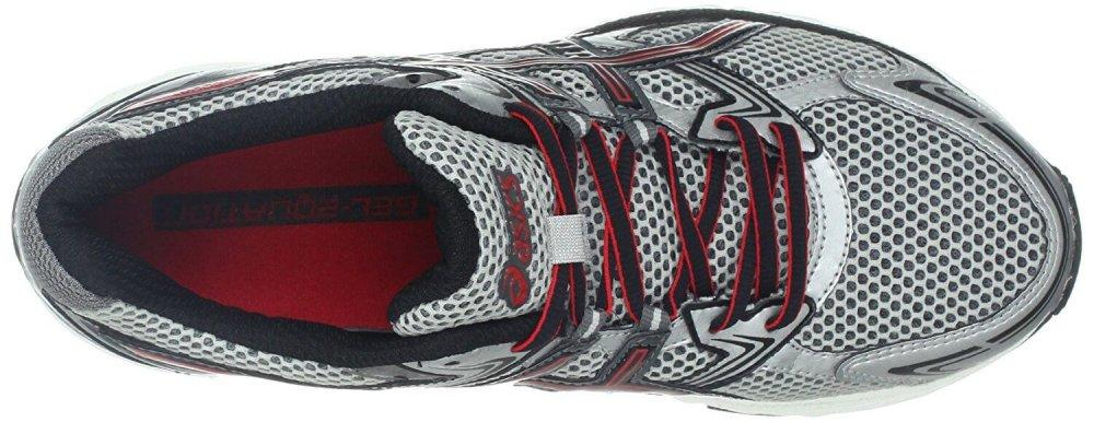 The Gel Equation 4 features a breathable upper