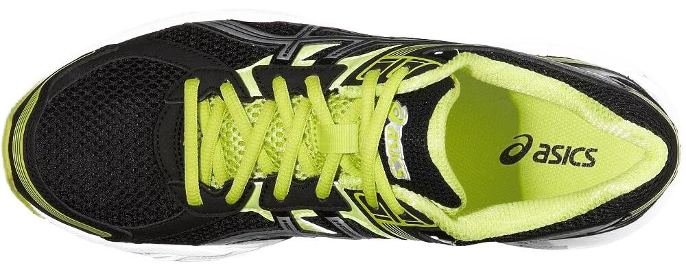 the lacing system of the Asics Trounce 2 provides a snug fit