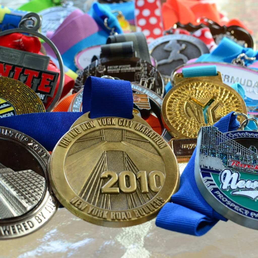 Unique race medals that you'll want to earn