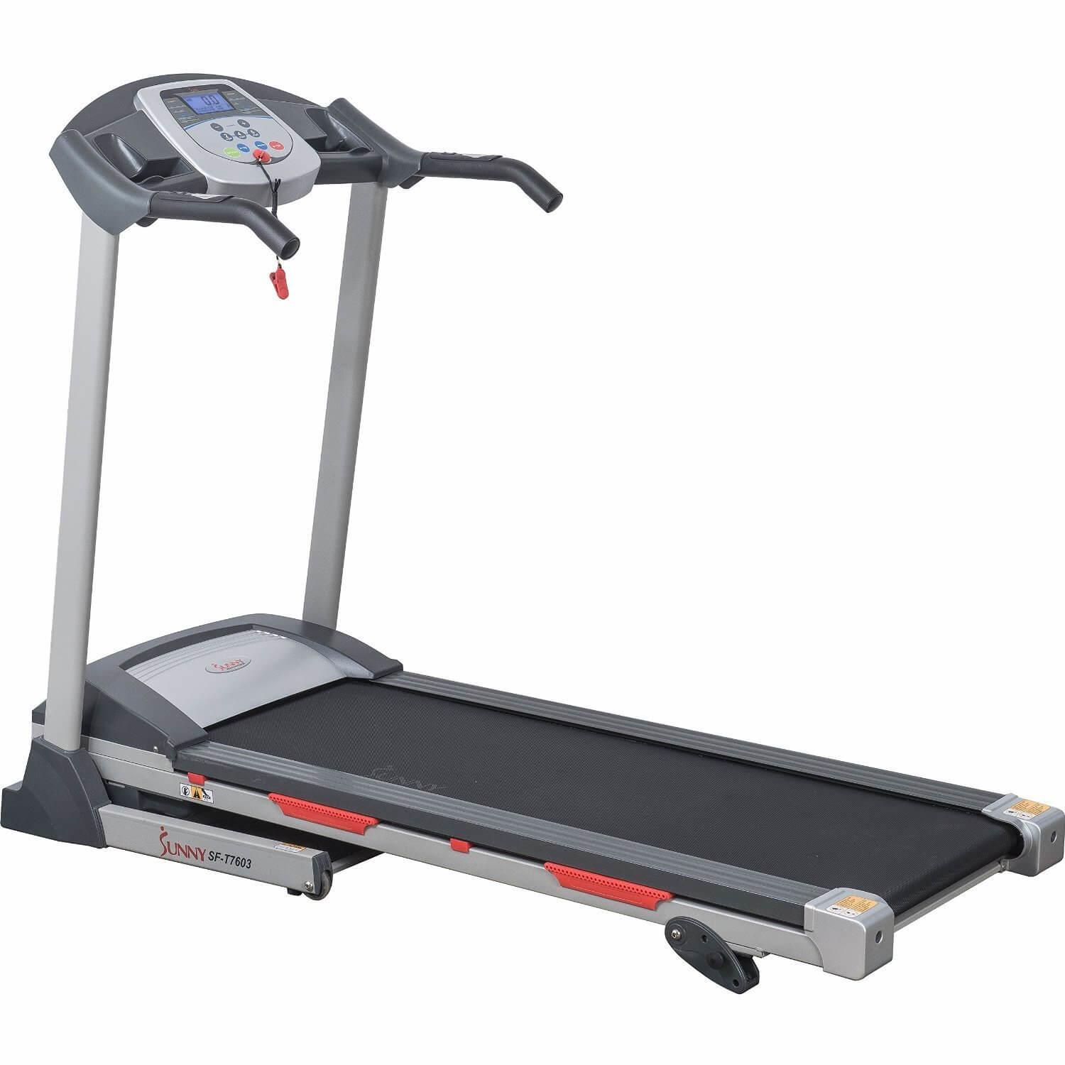 8. Sunny Health & Fitness SF-T7603 Electric Treadmill