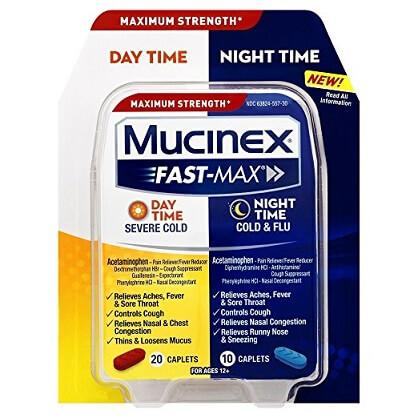 Mucinex Day and Night Caplets