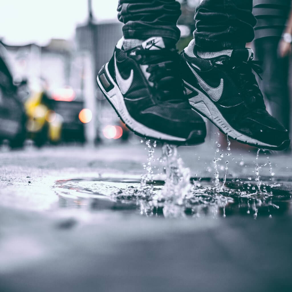 How to survive and embrace rainy runs.