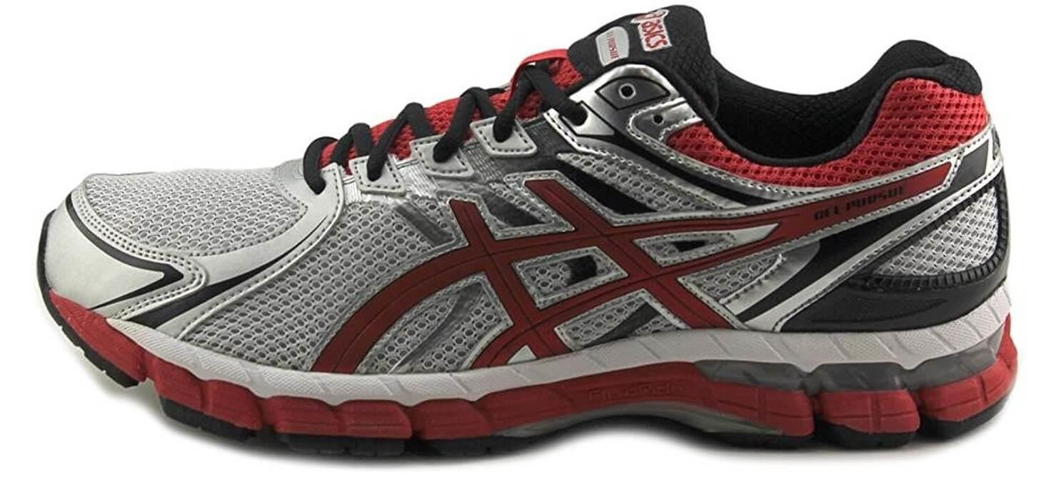 A side view of the Asics Gel Pursue 2